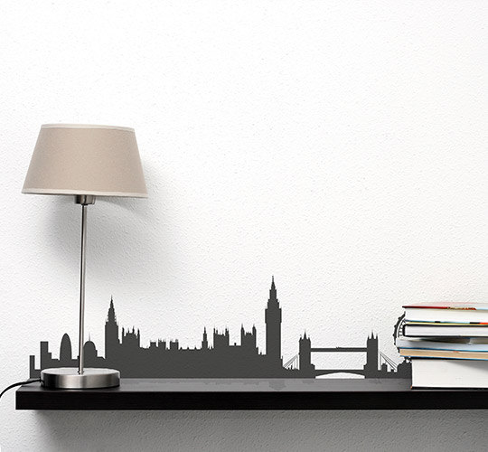 London Syline Wall Decal