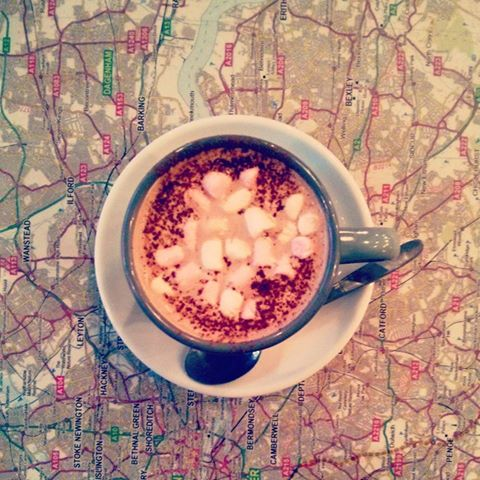 hot-chocolate-with-marshmallows-on-map