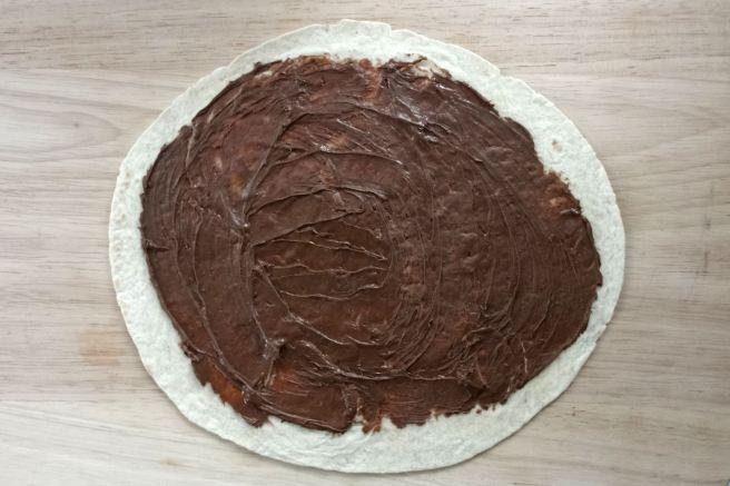 nutella-tortilla