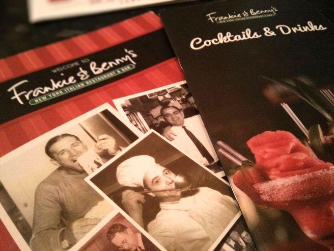 Frankie-and-Bennys-menu