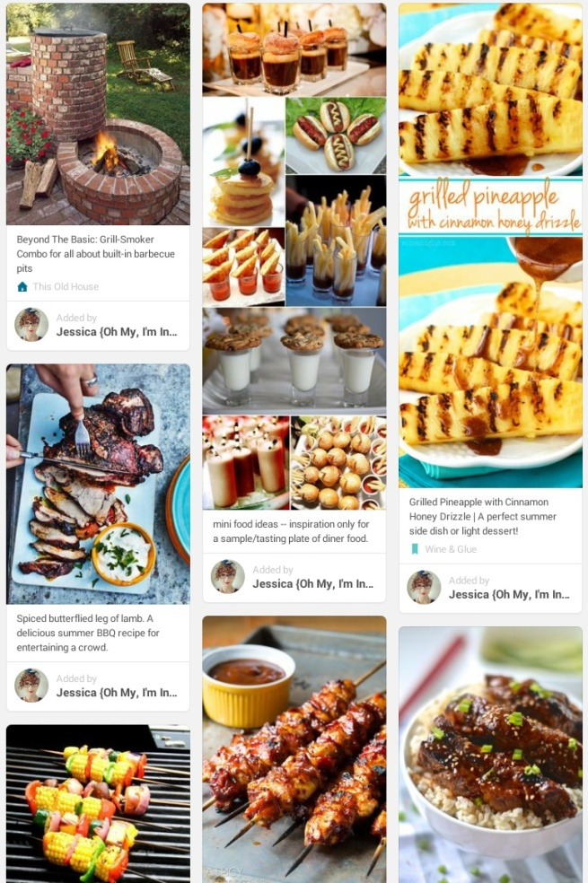 barbecue pinterest board
